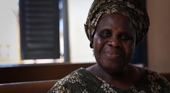 Ama Ata Aidoo on location